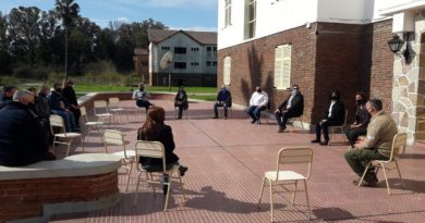 Hogar Escuela Evita: reunión de autoridades por seguridad